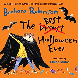 The Best Halloween Ever audiobook cover art