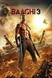 Edzxc-1000 Pieces of Puzzle For Adults-Baaghi 3 Movie Poster-1000 Pieces of Puzzle Paper Material Intellectua Family Game Pressure Relief Toy DIY Birthday Gift-(38X26Cm) 2