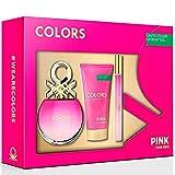 Benetton Colors Pink Paquete de productos, 3 piezas