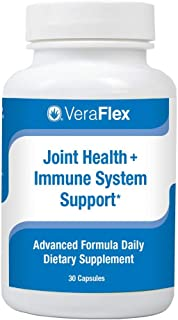 VeraFlex by AloeCure Clinically Proven Ingredients to Relieve Joint discomfort, Stiffness, and Mobility Starting in 3 Days. 1 a Day Tablet. 30 Day Supply.