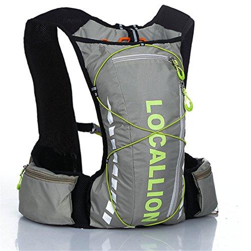 RoseFlower ハイドレーションバッグ サイクリングバッグ ランニング 給水 マラソン 超軽量 自転車バックパック リュック 12L 4色選び #6