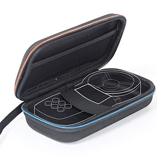 Hart Tasche Schutzhülle Windmesser EVA Case for Anemometer Schutzhülle für Windmesser/Multimeter/Luxmeter, 18,8 * 10,9 * 5,8 cm, Schwarz