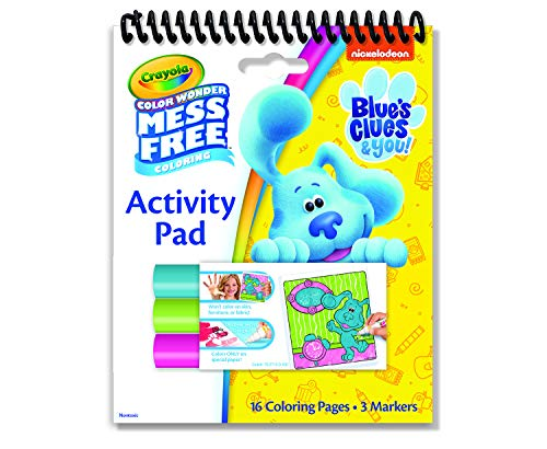 Crayola Blues Clues Color Wonder Activity Pad, Mess Free Coloring, Gift for Kids