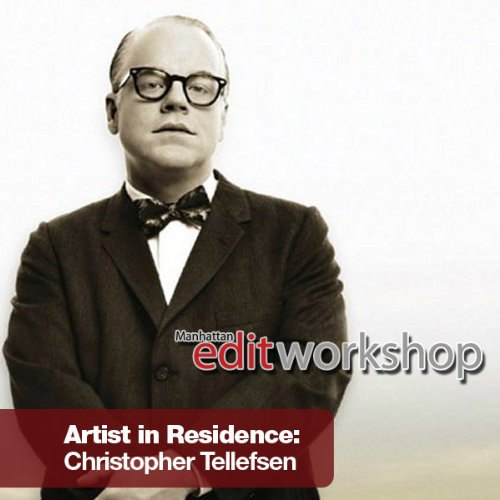 An Evening with Film Editor Christopher Tellefsen audiobook cover art