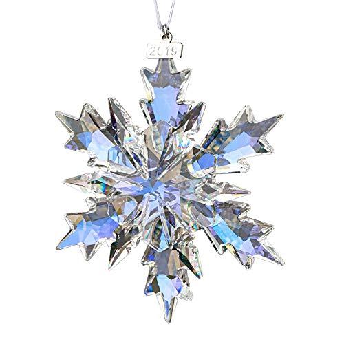 XIANGBAN 2019 Snow and Ice Elf Pendant, Crystal Christmas Ornaments (Multi)