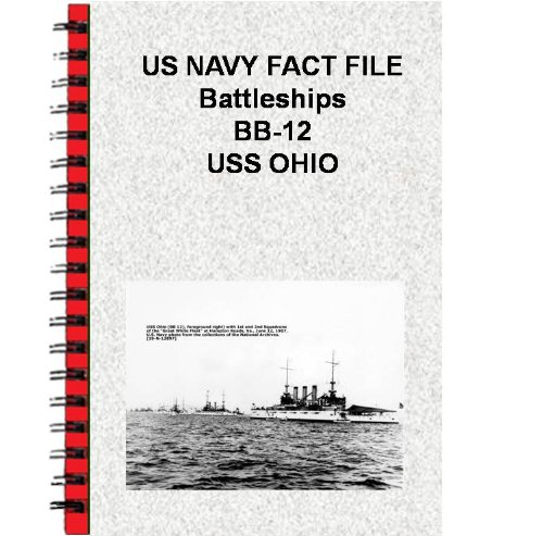 US NAVY FACT FILE Battleships BB-12 USS OHIO (English Edition)