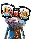 Pintura por números para adultos niños, peonía rosa Amiiba con jarrón, flores europeas, kits de bricolaje de 16 x 20 pulgadas, pintura acrílica por número arte de pared arte manualidades