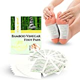 Pure Sole Bamboo Vinegar Foot Pads for Foot and Body Relaxation | All...