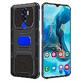 Bison N1 Smartphone, 6.7in, CostumesHD + Waterdrop Screen Quad-Core CPU 4GB + 64GB EXTENSION Tarjeta SIM dual (Global 3G) 2900mah Batería Teléfono móvil resistente a caídas Compatible con sistema An