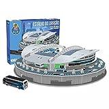 """Dispersa- Nanostad, Puzzle 3D Estadio O Drag""""o Original de Porto, Multicolor, única (075646)"""