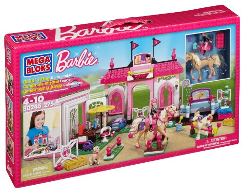 Mega Bloks Barbie 80246 Casa de los Ponis