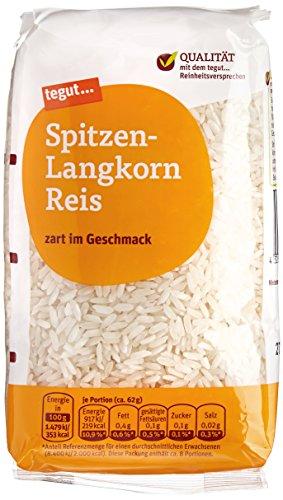 tegut... Spitzen-Langkorn Reis, 1 x 500 g