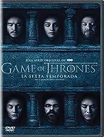 Game Of Thrones Sexta Temporada Version En Espanol DVD Region 1, 3 y 4 (5 DVDs)