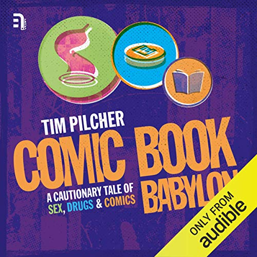 Comic Book Babylon cover art