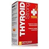 Redd Remedies, Thyroid Strong, Supports a Healthy Thyroid and Metabolism, 60 Capsules