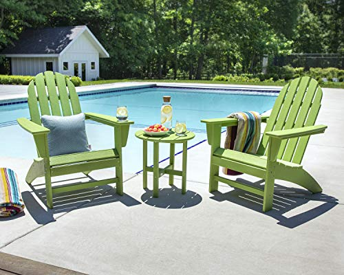 POLYWOOD Vineyard 3-Piece Adirondack Set (Slate Grey)