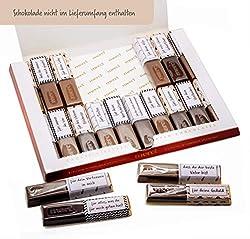 Aufkleber Set für Merci Schokolade - Dankeschön an Vater, liebevolle Geschenkidee zum Vatertag, Geburtstag oder Zwischendurch