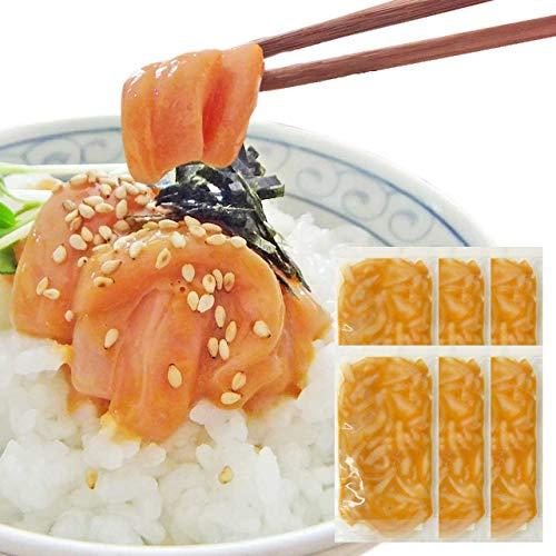 お中元 ギフト イカの塩辛60g6袋セット *14時までのご注文 ヤマキ食品 イカ屋荘三郎