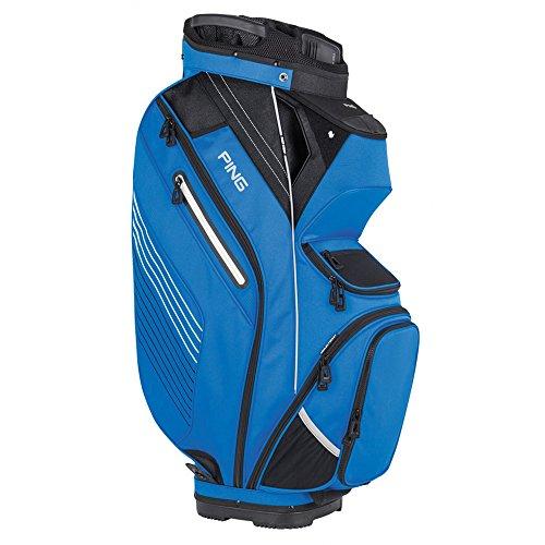 PING Golf Men's Pioneer Cart Bag, Birdie Blue/Black/White