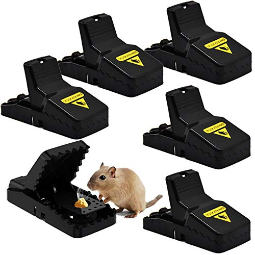 Mouse Traps Mice Traps, 6 Pack Mouse Traps For Indoors That Kill Instantly,...