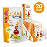 Fruittella Good For You Mix Sport Bio, Snack di Frutta Secca e Disidratata Biologico - 20 ...