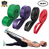 LEEKEY Resistance Band Set, Pull Up Assist Bands - Stretch Resistance Band - Mobility Band...