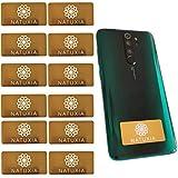 Natuxia Strahlenschutz Handy Aufkleber, Strahlung Abschirmung, Elektrosmog Neutralisierer für WLAN, Laptop, Handy (12 Pack)