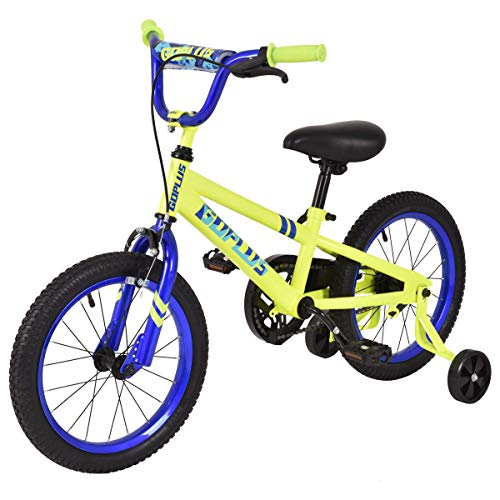 Discover Bargain G Type 16 Yellow and Blue Kid Bicycle Sports Outdoor Enjoyment Intellectual Develo...