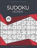 Sudoku Moyen 420 Grilles: sudoku moyen pour adultes, Niveau intermédiaire, Solutions à la Fin, Entraîne la Mémoire et la Logique, 21.59 x 27.94 cm