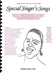 Special Singer\'s Songs: Ballads * Blues * Cafe * Jazz * Novelty * R&b