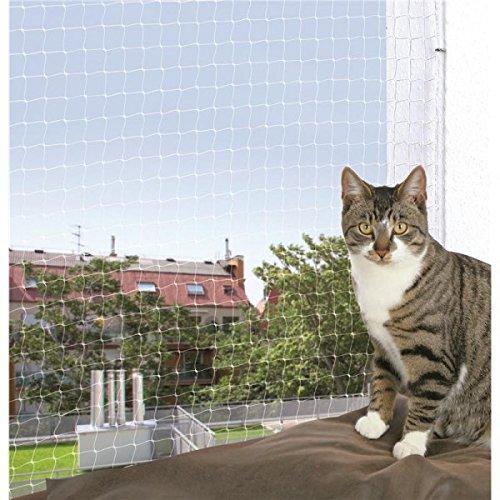Trixie 44313 Schutznetz, 3 × 2 m, transparent - 4