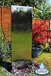 Wasserwand aus Edelstahl - Hingucker für den Garten