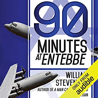 90 Minutes at Entebbe audiobook cover art