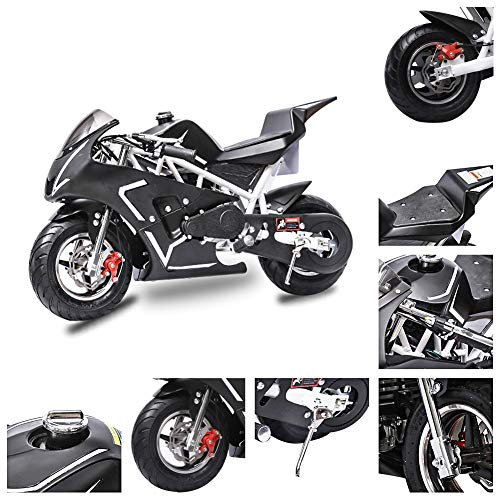 Fit Right 2020 Mini Gas Pocket Bike 01 On 40cc 4 Stroke, Support Up to...