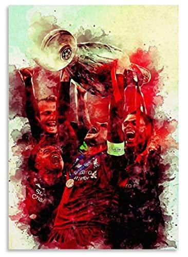JYSHC Rompecabezas De Madera 1000 Piezas Liverpool Champions Rompecabezas Juguetes Educativos para Adultos Regalo De Cumpleaños Gt710Cx