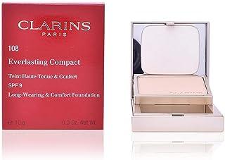Clarins Everlasting Compact Foundation SPF, 110 Honey, 10 gm/0.3 Oz.