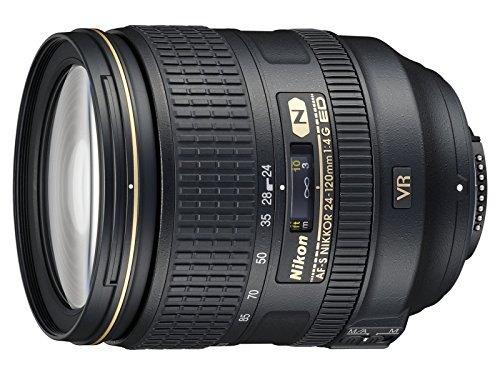 Nikon 24-120mm f 4G ED VR AF-S NIKKOR Lens for Nikon Digital SLR (Renewed)