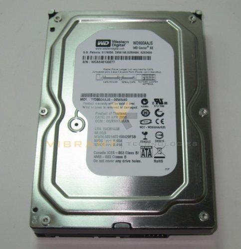 Western Digital WD800AAJS Caviar Se 80GB Sata 300MB/S 7200RPM 8MB Cache Blue Hard Drive Serial