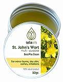 Organic St John's Wort Beeswax Dry Skin...