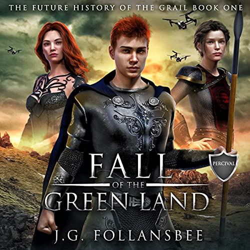 Fall of the Green Land cover art