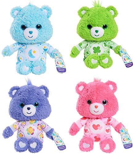 Care Bears Cubs Bundle Set of 4 Good Luck Bedtime Love-a-Lot Harmony 8'