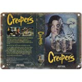 Creepers Media Video 注意看板メタル金属板レトロブリキ家の装飾プラーク警告サイン安全標識デザイン贈り物