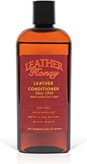 comprar comparacion Leather Honey - Acondicionador para cuero, el mejor acondicionador de cuero desde 1968, botella de 0,24 litros. Para uso e...