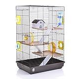 Wagner Cages | हम्स्टर पिंजरा Lenzkirch पिंजरा धेरै सामान सहितको हम्सटरहरूको लागि