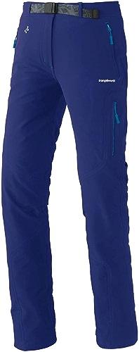 Trangoworld pc007777 2CF-L Pantalon Long, Femme, Bleu Encre, l