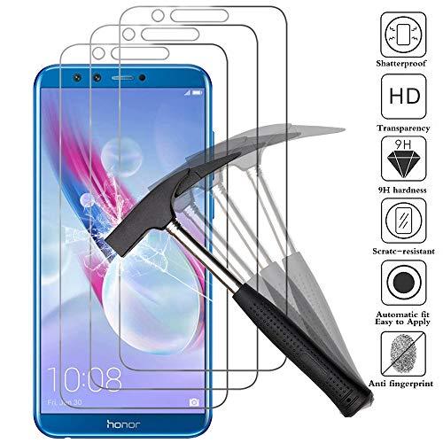 ANEWSIR Schutzfolie für Huawei Honor 9 Lite [3 Stück], 9H Festigkeit, Einfache Installation, Anti- Kratzer, Anti-Bläschen, Bildschirmschutzfolie Folie für Honor 9 Lite.