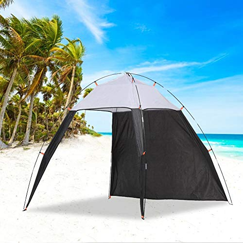 Beach Tent, Canopy Tents, Outdoor Waterproof Sunscreen Pop Up Folding UV Protection Ventilation Portable Sun Shelter With Mini Pool For Fishing Hiking Travel,230x210x160cm