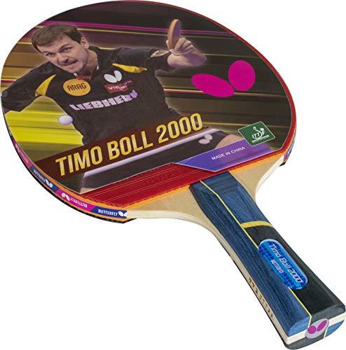 Butterfly 8829 Timo Boll 2000 Wood Table Tennis Bat - Multicolour