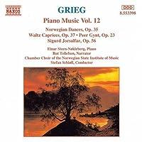 Piano Music 12 / Norwegian Dances by GRIEG (1996-03-26)