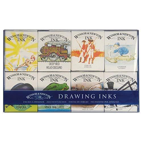 Winsor & Newton Tinta Para Desenho William Collect 8 Unidades